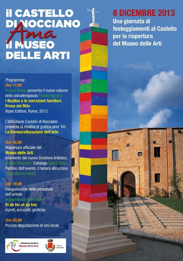 Il Castello di Nocciano ama il Museo delle Arti
