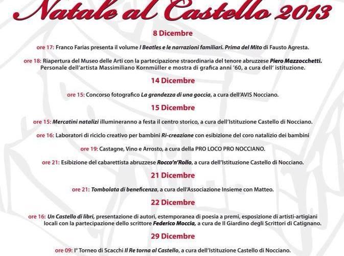 Natale al Castello 2013