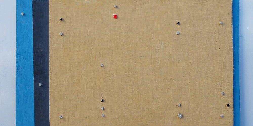 Pittura con punti a rilievo - Gabriele Di Bene